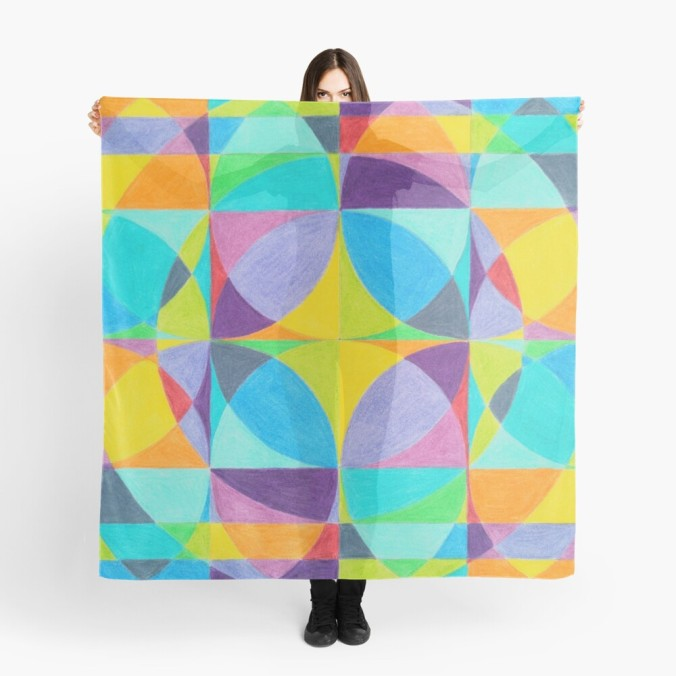 The Cross of Light Effect scarf ~ View more info / purchase on Redbubble or view more scarves on Redbubble - buy any 2 and get 15% off.